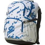 Skoletaske Bergans 2GO Backpack 32L - White/Athens Blue Triangle