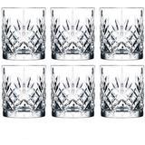 Whiskeyglas Lyngby Melodia Whiskeyglas 31 cl 6 stk