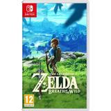 Nintendo Switch spil The Legend of Zelda: Breath of the Wild