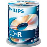 CD Philips CD-R 700MB 52x Spindle 100-Pack