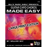 Guitar capo Bøger Guitar Capo Chords Made Easy: Large Print Edition