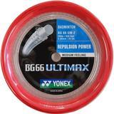 Badmintonstrenge Yonex BG-66 Ultimax 200m