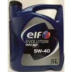 Elf Evolution 900 NF 5W-40 5L Motorolie