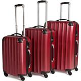 Kuffertsæt tectake Lightweight Suitcase - 3 stk.
