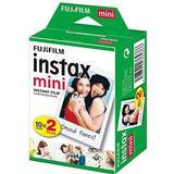 Instax mini billeder Analoge kameraer Fujifilm Instax Mini Film 20 pack