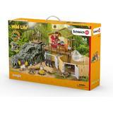 Legesæt Schleich Schleich Wild Life Jungle Forskningsstation Croco 42350