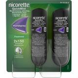 Nikotinspray Håndkøbsmedicin Nicorette Quickmist Freshmint Duo 1mg