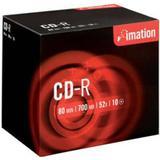 Optiske Disk Medier Imation CD-R 700MB 52x Jewelcase 10-Pack (225365)