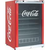 Minikøleskab & Festkøler Scandomestic Coca Cola High Cube Rød