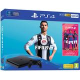 Spillekonsoller Sony PlayStation 4 Slim 500GB - Fifa 19 Bundle