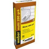 Byggematerialer Weber Multi 280 Gray 25Kg