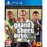 Gta 5 online PlayStation 4 spil Grand Theft Auto V - Premium Online Edition