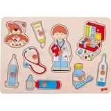 Knoppuslespil Goki Doctor 9 Pieces