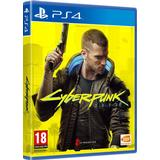 PlayStation 4 spil Cyberpunk 2077