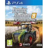 Farming simulator 19 ps4 PlayStation 4 spil Farming Simulator 19: Platinum Edition
