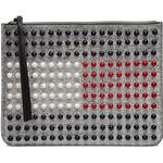 Håndtasker Tommy Hilfiger Flag Pearl Clutch Bag - Silver/Multi