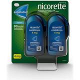 Nikotintablet Nicorette Cooldrops Duo 4mg 80stk