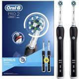 Elektriske tandbørster Oral-B Pro 2 2900 Cross Action Duo
