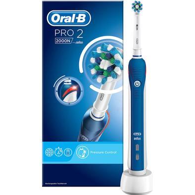 Elektriske tandbørster Oral-B Pro 2 2000N CrossAction