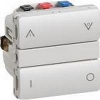 LK IHC® Wireless - Fuga Allround Kombi afbryder/relæ (også til CFL og LED sparepærer), 1 modul, lysegrå