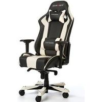 DxRacer King OHKS06 Gaming Chair BlackWhite