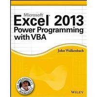 Microsoft Excel 2013 Power Programming with VBA (Häftad, 2013), Häftad