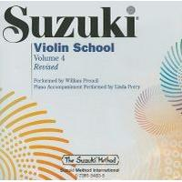 Suzuki Violin School, Volume 4 (Ljudbok CD, 2008), Ljudbok CD