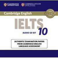 Cambridge English IELTS 10 (Ljudbok CD, 2015), Ljudbok CD