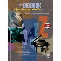 Big Book of Jazz Piano Improvisation: Book & CD (, 2003)