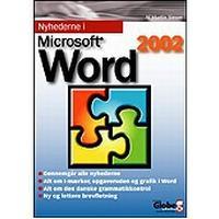 Nyhederne i Microsoft Word version 2002, E-bog