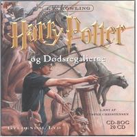 Harry Potter og dødsregalierne (bind 7), Lydbog CD