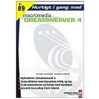 Hurtigt i gang med Dreamweaver 4, E-bog