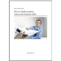 Alt om stedfortrædere i Microsoft Outlook 2010, E-bog
