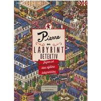 Pierre - en labyrint detektiv: jagten på den stjålne labyrintsten, Hardback