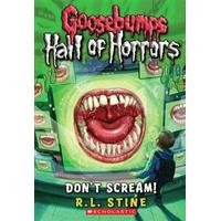 Goosebumps: Hall of Horrors: Don't Scream!, Hæfte