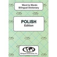 English-PolishPolish-English Word-to-Word Dictionary, Hæfte