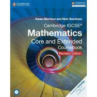 Cambridge IGCSE Mathematics Core and Extended Coursebook with CD-ROM, Ukendt format