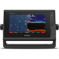 Garmin 722xs GPSMAP, Kortplotter med Ekkolodsmodul. U/Tranducer