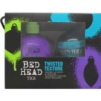 Tigi Bed Head Twisted Texture Gavesæt 200ml Small Talk Thickifier + 42g Hard to Get Texturizing Paste