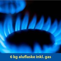 Ombytning 6 Kg Kosan - Campinggas - Aluflaske