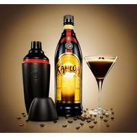 Kahlua 20% 70 cl. + Cocktail Shaker