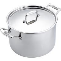 Scanpan Fusion 5 Stock Pot Suppegryde med låg 24cm