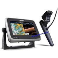 """a78 7"""" Multifunktion Display med indbygget DownVision og Wi-Fi og CPT-100 transducer"""
