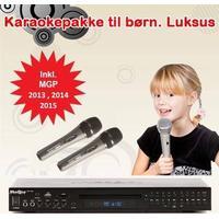 Karaokepakke til børn. Luxus 2018