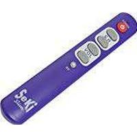 Seki Slim Universal Learning Remote Control with Large Buttons