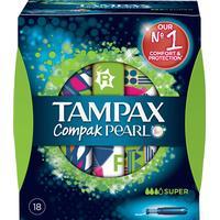 Tampax Pearl Compak Super Tamponer