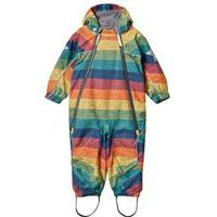 Molo Pyxis Baby Snowsuit Denim Rainbow Ski