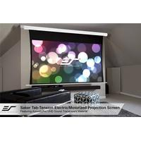 Elite Screens Saker Tab-Tension 16:9 AcousticPro motoriseret lærred, 150 tommer