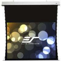 Elite Screens Evanesce Tab Tension 16:9 loft forsænket motoriseret lærred, 100 tommer