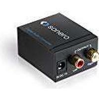 HDGear Audio Converter Digital Audio to Analogue Stereo Audio